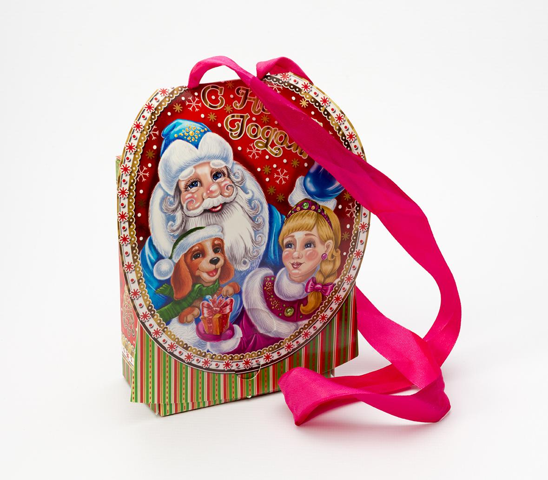 Новогодняя игрушка упаковка для новогодних подарков 604